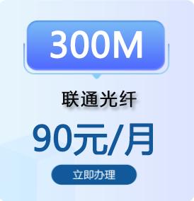 东莞联通300兆光纤宽带办理